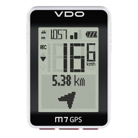 VDO M7 Cycle Computer white/black
